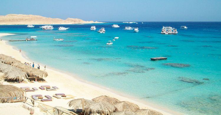 Paradise Insel In Hurghada 187 Schnorchelausflug Mit Dem Boot